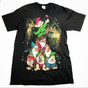 Disney   Black Seven Dwarves Gemstone Mining Shirt